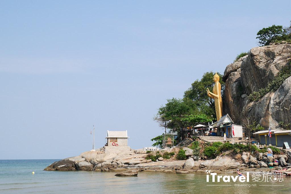 华欣景点推荐 筷子山海滩Khao Takiab beach (3)
