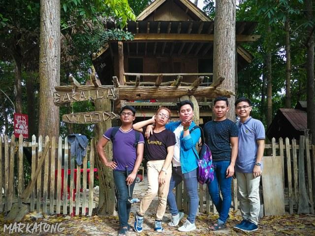 Bacalla Woods Campsite Entrance