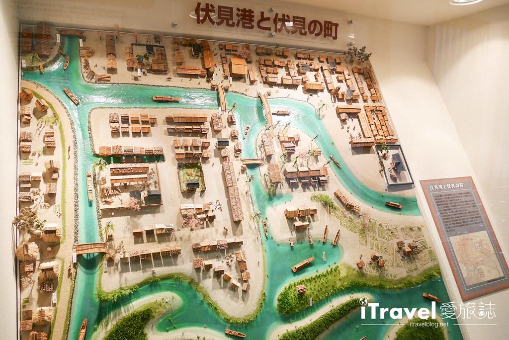 京都赏樱景点 伏见十石舟 (35)