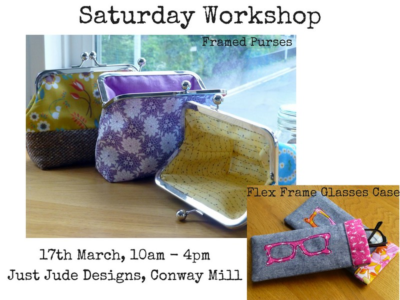 Flex & Framed Purses workshop