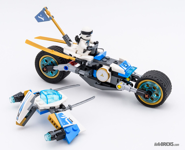 REVIEW LEGO 70639 Street Race of Snake Jaguar