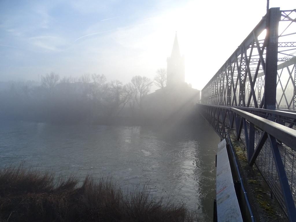 Sangüesa Puente sobre el rio Aragon Navarra 03