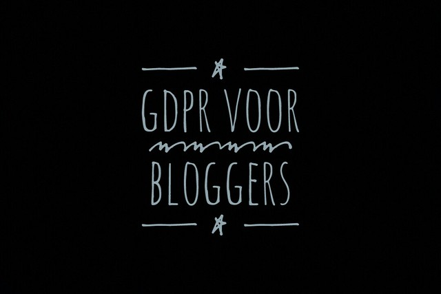 GDPR voor bloggers