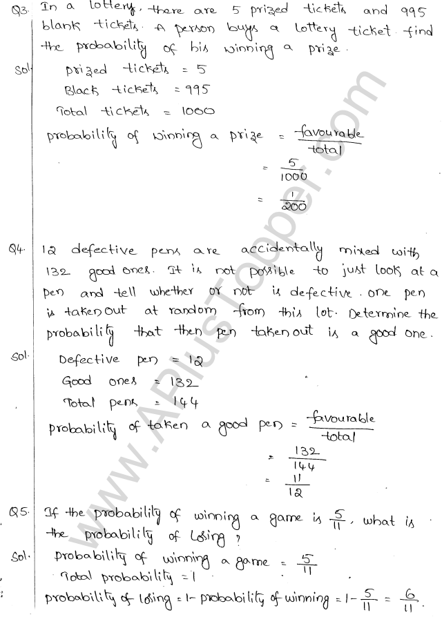 ml-aggarwal-icse-solutions-class-10-maths-ch-24-probability-ex-24.1-2