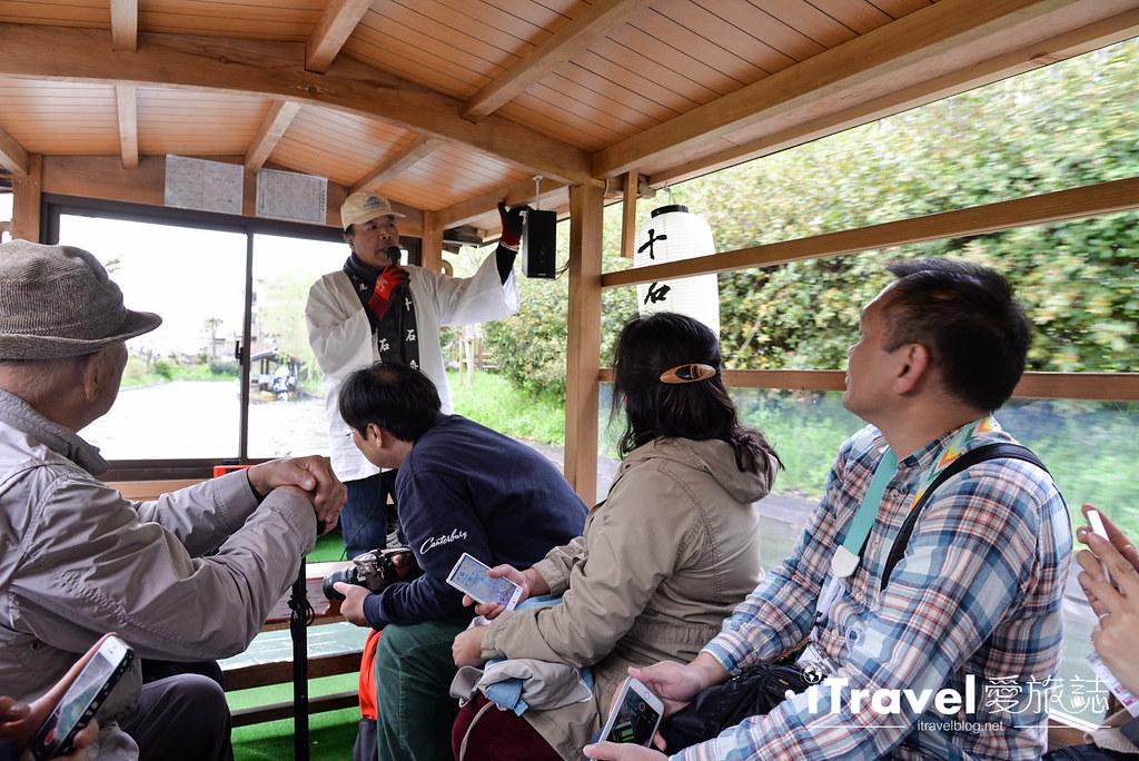 京都赏樱景点 伏见十石舟 (15)