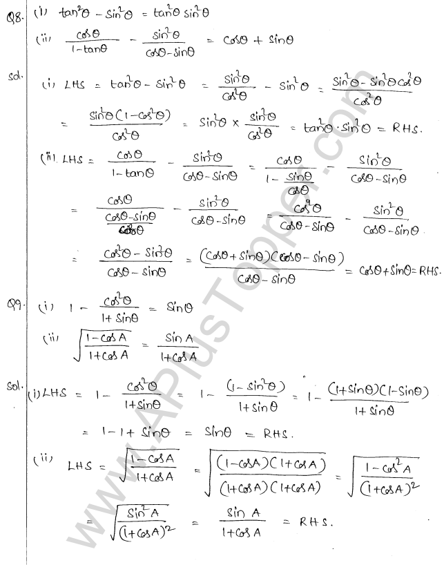 ml-aggarwal-icse-solutions-class-10-maths-ch-19-trigonometric-identities-6