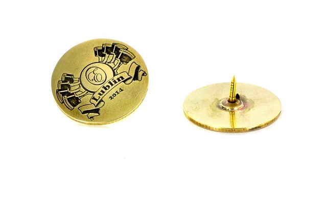 pins z mosiadzu 20mm srednicy