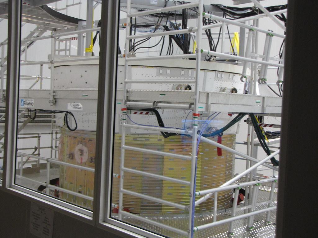 ATV-2 Kepler au Centre Spatial Guyanais en juillet 2010