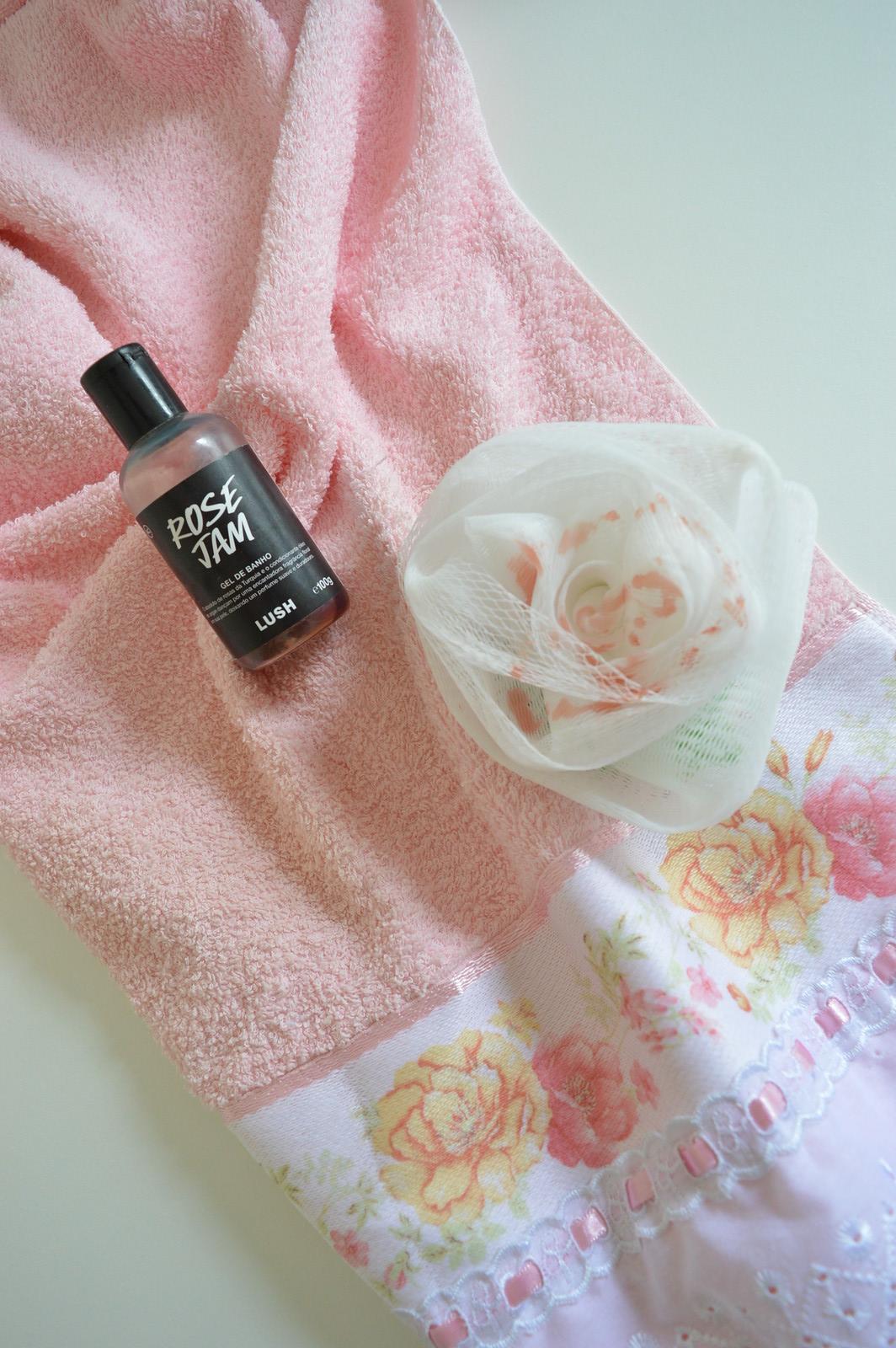 Gel de banho Rose Jam
