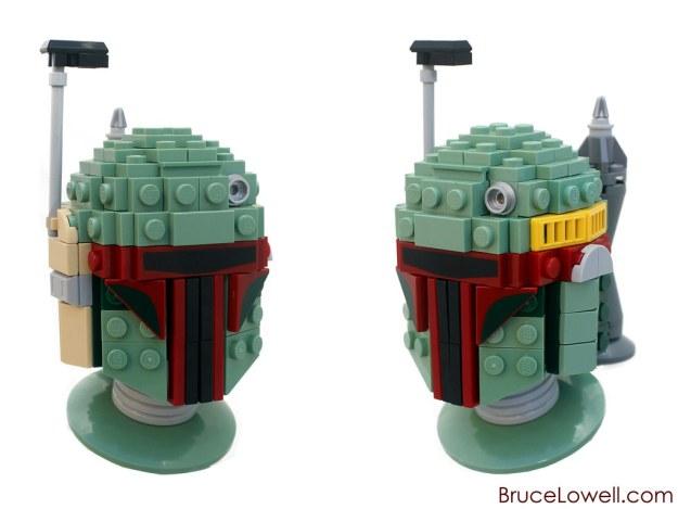 LEGO Boba Fett Bust