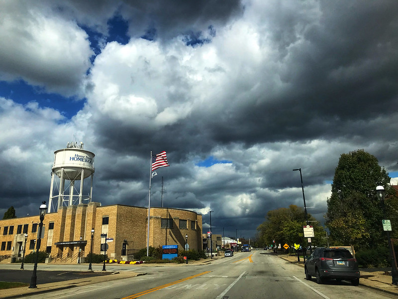 Clouds in Homewood, Illinois