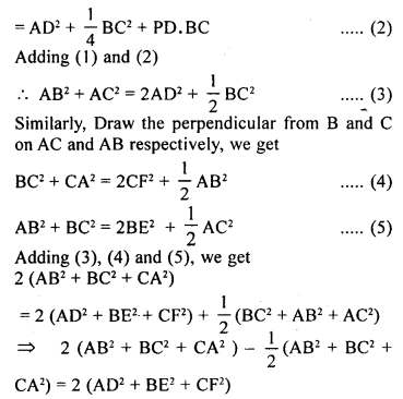 ML Aggarwal Class 9 Solutions for ICSE Maths Chapter 12 Pythagoras Theorem     22b