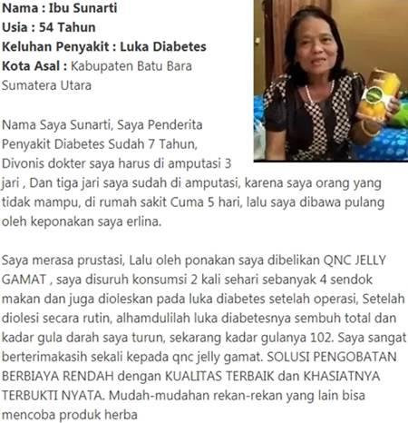 sembuh dari luka diabetes dan gula darah tinggi