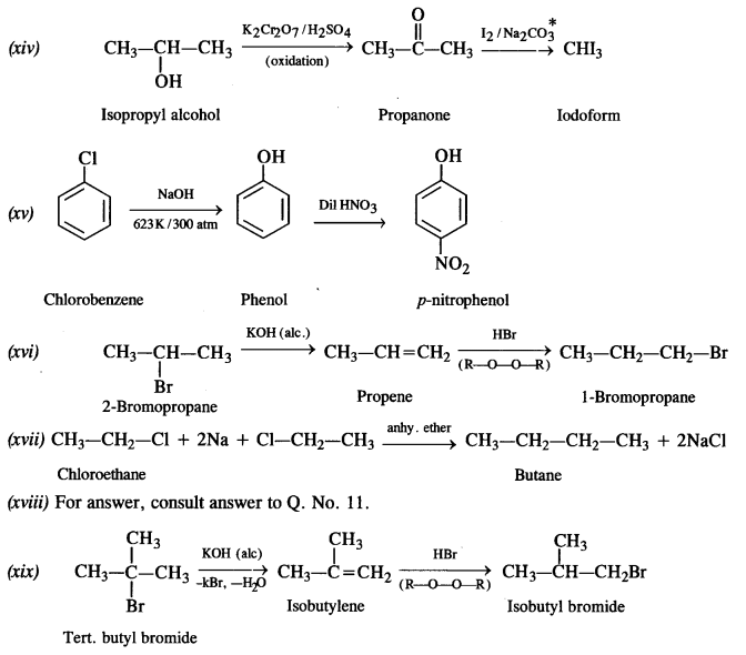 NCERT Solutions for Class 12 Chemistry Chapter 11 Alcohols, Phenols and Ehers e 19c