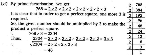 NCERT Solutions for Class 8 Maths Chapter 6 Squares and Square Roots 11