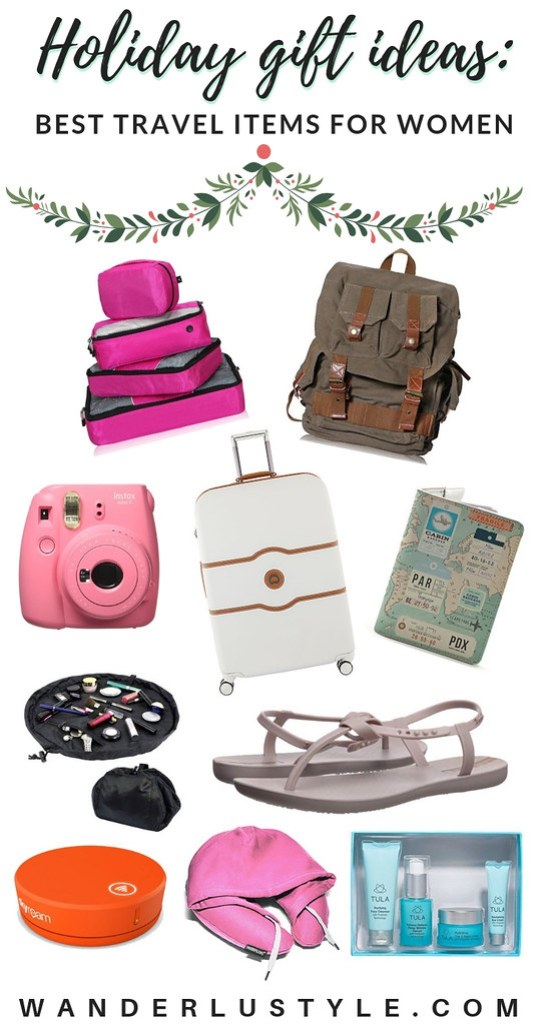 Holiday Gift Ideas: Best Travel Items for Women | Wanderlustyle.com