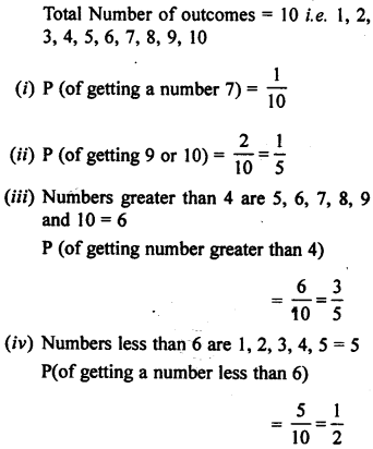 Selina Concise Mathematics class 7 ICSE Solutions - Probability-4b.