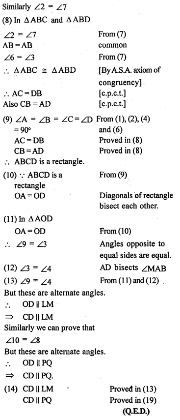 ML Aggarwal Class 9 Solutions for ICSE Maths Chapter 13 Rectilinear Figures  ex 17f