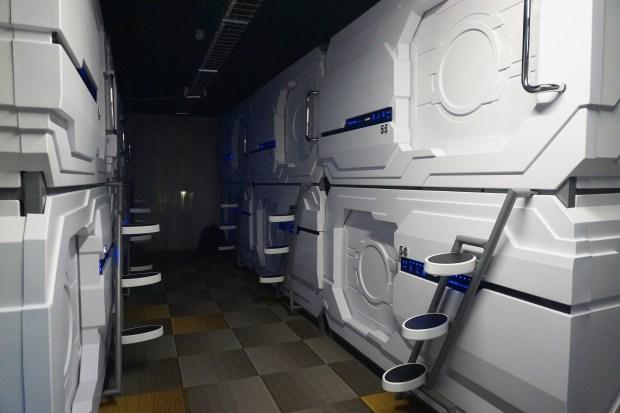 Hafnarstraeti Hostel capsule sleeping pods, Akureyri