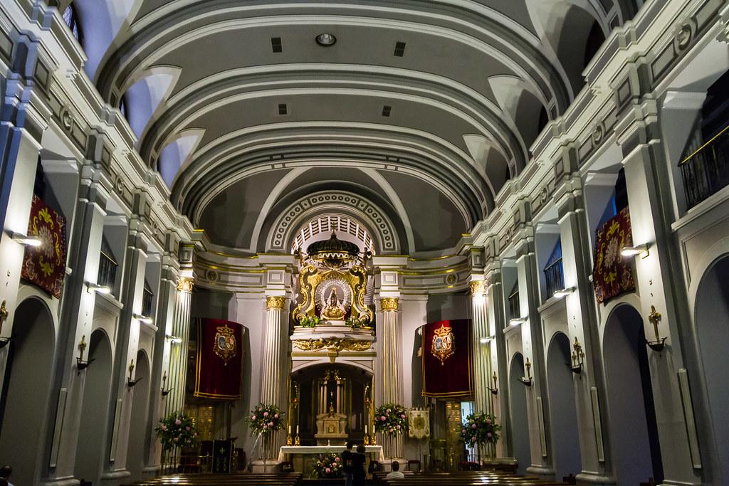 altar mayor interior Real Basilica de Nuestra Señora de Atocha Madrid 02
