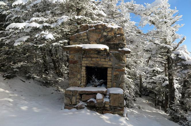 Mt. Starr King Fireplace Winter Hike