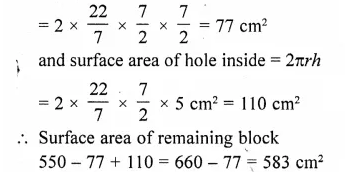 RD Sharma Class 10 Solutions Chapter 14 Surface Areas and Volumes Ex 14.2 33a