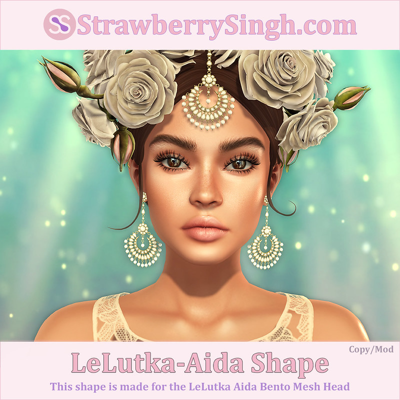 StrawberrySingh.com LeLutka-Aida Shape