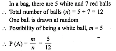 RD Sharma Class 10 Solutions Chapter 16 Probability Ex 16.1 12