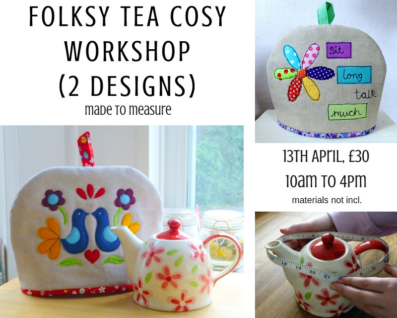 Folksy Tea Cosy Workshop