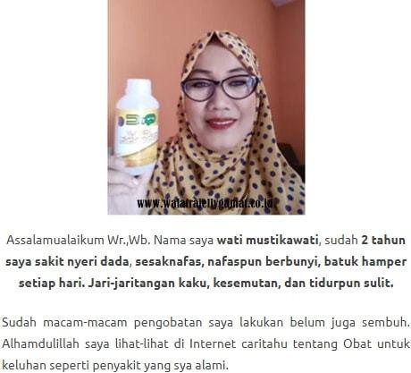 QnC Jelly Gamat Atasi Komplikasi Dari Penyakit Sinusitis