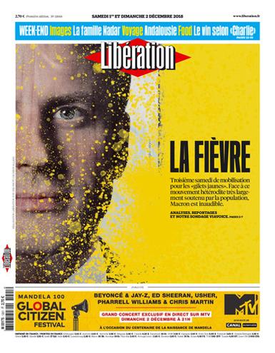 18l01 Libe Tercera jornada de protesta nacional delos chalecos amarillos