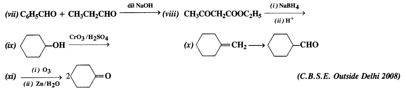 NCERT Solutions for Class 12 Chemistry Chapter 12 Aldehydes, Ketones and Carboxylic Acids e17a