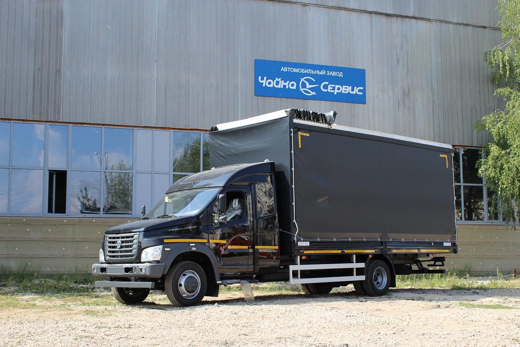 Спальная надстройка для «ГАЗон NEXT» от завода «Чайка-Сервис»