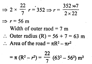 RD Sharma Class 10 Solutions Chapter 13 Areas Related to Circles Ex 13.1 30a