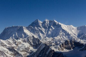 En dit is de aller-, aller-, allerhoogste. Mount Everest.