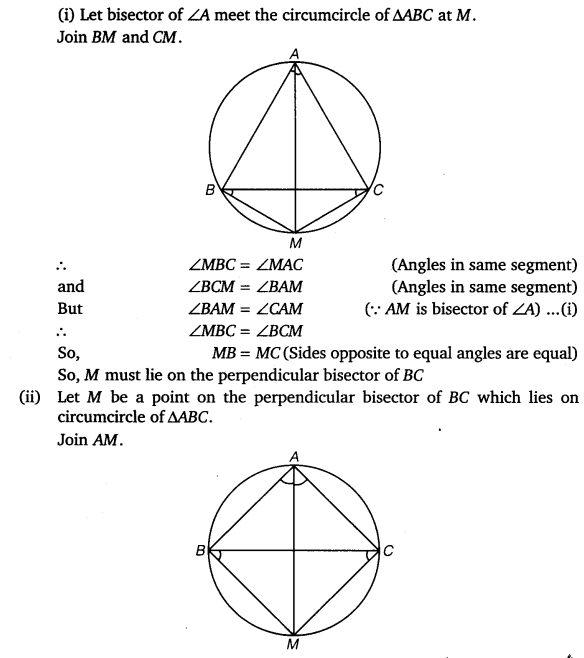 NCERT Solutions for Class 9 Maths Chapter 10 Circles 55