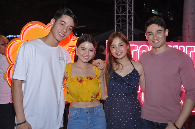 GMA Artists Andre Lagdameo, Lindsay Johnston, Ayeesha Cervantes, and Addy Raj