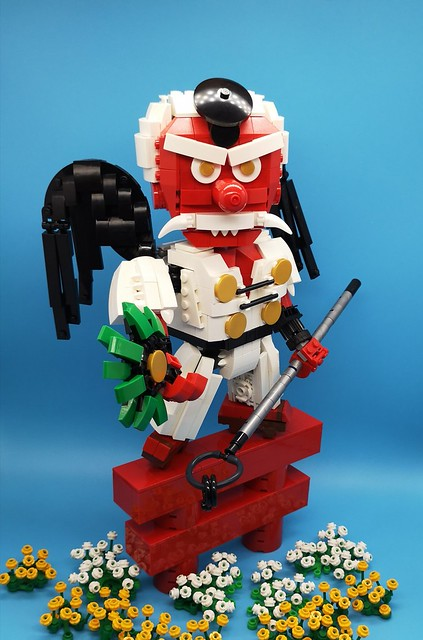 天狗てんぐTengu # legomoc #乐高# legophotography # legocreation # legolife神话# legobuilder #乐高# #妖怪#怪物