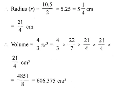 RD Sharma Class 10 Solutions Chapter 14 Surface Areas and Volumes  RV 26