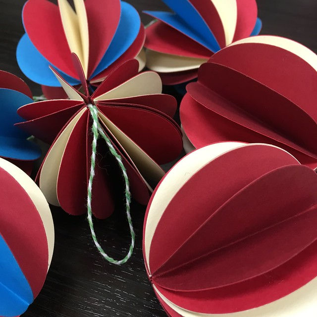 Paper decorations