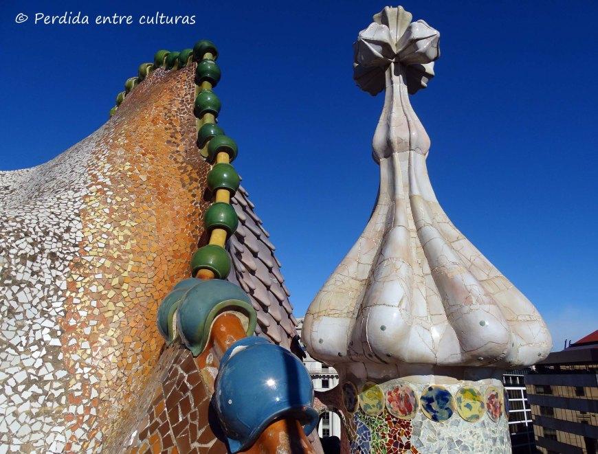 Casa Batlló - Xemeneia