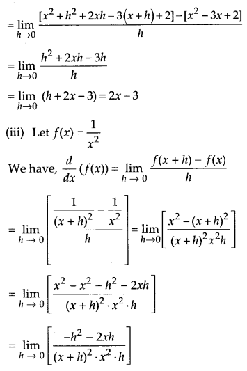 NCERT Solutions for Class 11 Maths Chapter 13 Limits and Derivatives 72