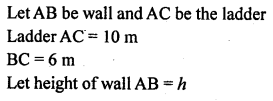 ML Aggarwal Class 9 Solutions for ICSE Maths Chapter 12 Pythagoras Theorem     2