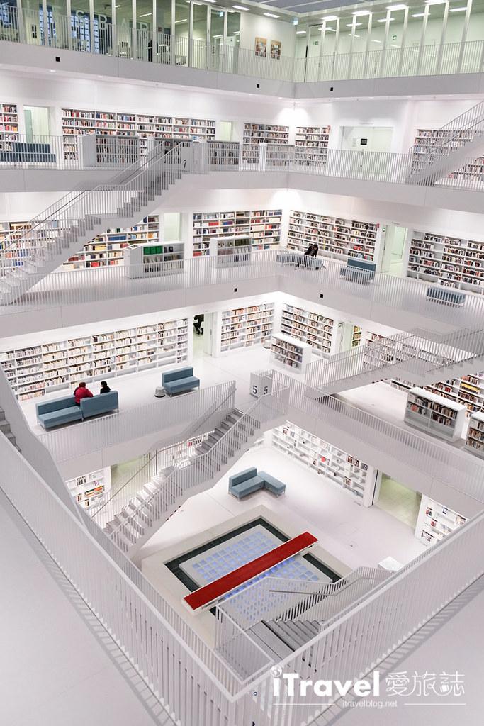 德國斯圖加特市立圖書館Stadtbibliothek Stuttgart (8)
