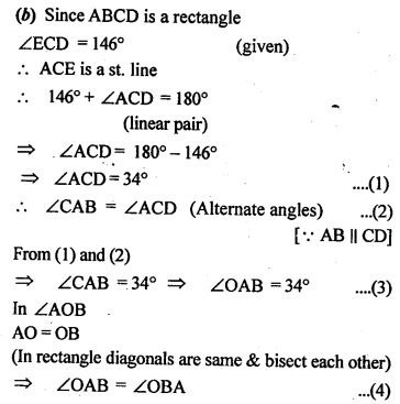 ML Aggarwal Class 9 Solutions for ICSE Maths Chapter 13 Rectilinear Figures  ex 7b