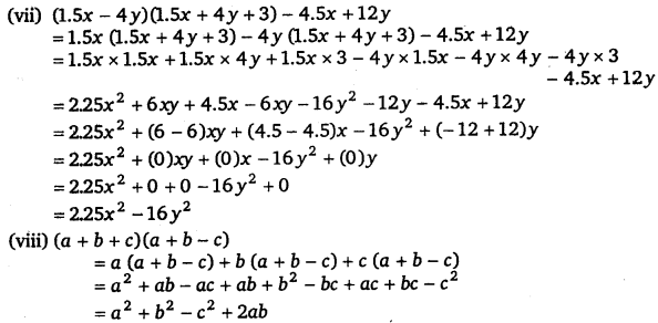 NCERT Solutions for Class 8 Maths Chapter 9 Algebraic Expressions and Identities 21