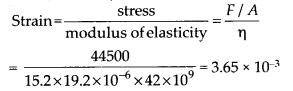 NCERT Solutions for Class 11 Physics Chapter 9 Mechanical properties of solid 8