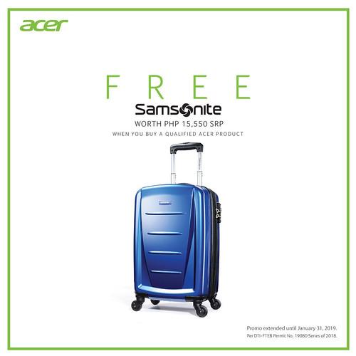 Free Samsonite