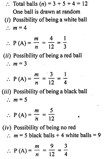 RD Sharma Class 10 Pdf Ebook Chapter 13 Probability