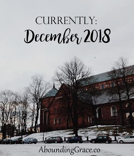 Currently December 2018
